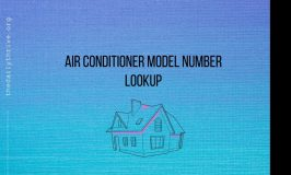 Air Conditioner Model Number Lookup