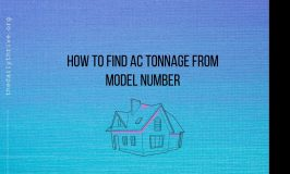 How to Find AC Tonnage from Model Number