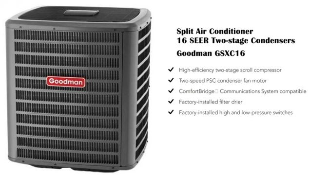 Goodman GSXC16 Air Conditioner Review & Price