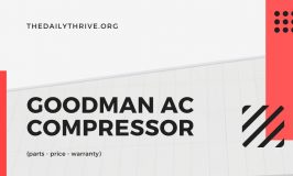 Goodman AC Compressor