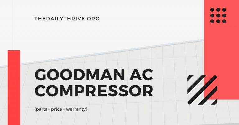 Goodman AC Compressor