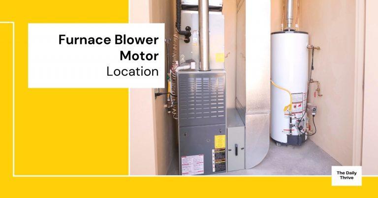 Furnace Blower Motor Reset Button Location