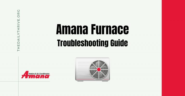 amana furnace problems - error codes & troubleshooting guide