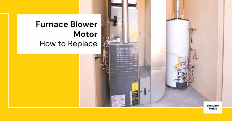 how to replace furnace blower motor