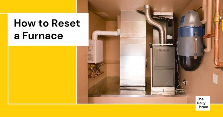 How to Reset a Furnace