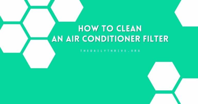 How to Clean Central Air Conditioner Filter