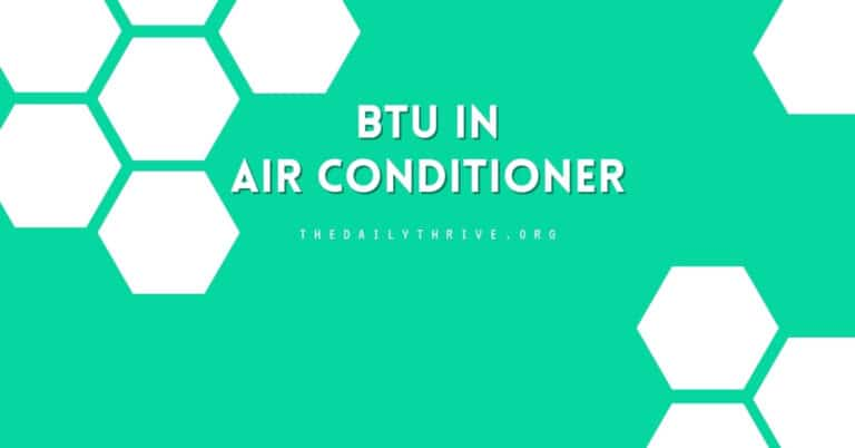 What is BTU in Air Conditioner