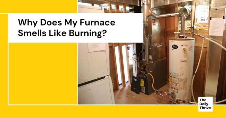 Why Does My Furnace Smells Like Burning?